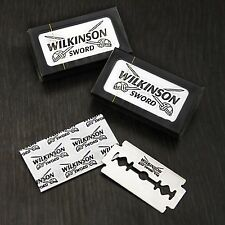 SHAVING BLADE STRAIGHT CUT THROAT RAZOR BLADES, Wilkinson Blades - 2 PACKS 10B