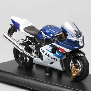 Welly 1:18 Scale Suzuki Gsx-R750 Gixxer 750 Motorcycle Model Diecast Bike Toy
