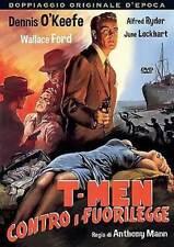 Dvd T-MEN CONTRO I FUORILEGGE - (1947)  *** A&R Productions *** .....NUOVO