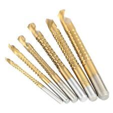 6 un./set HSS Madera Metal Plástico de Acero de corte Serrucho Brocas Set 3-8mm (82)