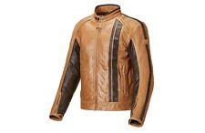 Genuino Triumph Raven tan Cuero Moto Chaqueta Tamaño X-Large mlhs 17320 £ 370