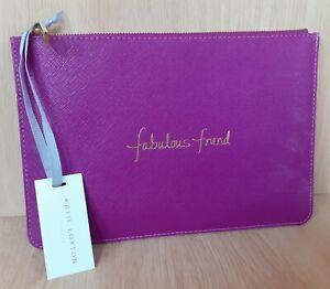 Katie Loxton Fabulous Friend Purple/Pink Pouch BNWT