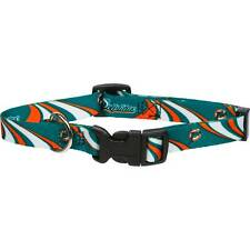 Miami Dolphins X Large 26 - 32 Inch Dog Collar