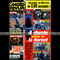 MOTO REVUE N°3566 HONDA 600 HORNET DUCATI SUZUKI SV 650 YAMAHA FZS KAWASAKI ZR-7