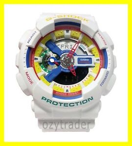 Brand New Casio G-Shock Dee and Ricky Limited Edition GA-111DR-7A White Watch