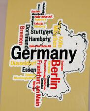 Voiture reflex réflecteur autocollant reflective sticker Allemagne Germany voiture HQ