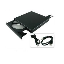New Slim External USB 2.0 DVD-ROM CD-ROM Drive for Laptop Notebook PC Portable