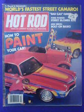 HOT ROD - HOW TO PAINT - July 1980 vol 33 #7