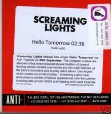 (487X) Screaming Lights, Hello Tomorrow - DJ CD