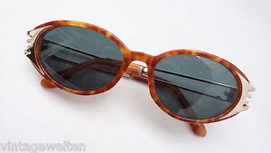 See You Sunglasses Brands Frame Horn-Look With Gold Decor Size M