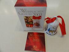 Porzellanglocke Hutschenreuther 2003 limitiert