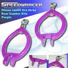 EMUSA fits 1989-1994 Nissan 240sx S13 Rear Camber Suspension Arms PURPLE