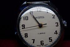 Vostok Stainless Steel Case Nylon Strap Wristwatches