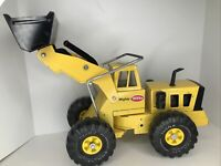 Vintage 1970's Mighty Tonka 54320 Front End Loader Yellow Truck XMB-975 RARE FS