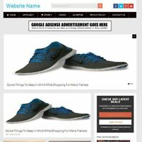 MENS SHOES WEBSITE Online Business Website For Sale, Free Domain Name + Hosting