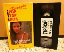 KARAOKE Rock Around Clock sing-along Unchained Melody multiplex Beatles VHS tape