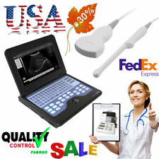 Portable Laptop Ultrasound Scanner Machine+2 Probes,Digital Diagnostic System,CE