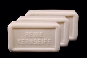 3x reine Kernseife á 150g Citrus weiße Seife Made in Germany Stückseife NEU