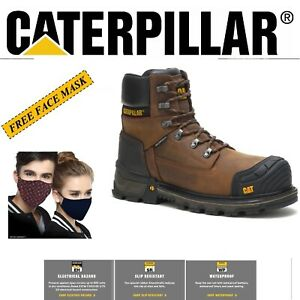 MEN CATERPILLAR EXCAVATOR XL 6 INCH WATERPROOF COMPOSITE TOE WORK BOOTS P90991