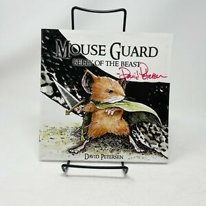 Mouse Guard Belly Of The Beast #1- 2006 Archaia - Signed by David Petersen