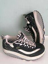 Women Black Skechers  Shape-Ups Sport Shoes Trainers Size UK 5.5