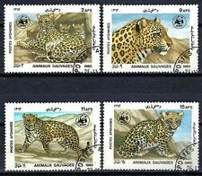 Animali Iger Afghanistan (145) Serie 4 Francobolli Usati