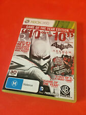 Batman Arkham City Game of the Year Edition GOTY (Microsoft Xbox 360, 2012)