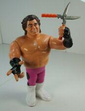 WWF WWE Hasbro BRUTUS THE BARBER BEEFCAKE Wrestling action figure Complete