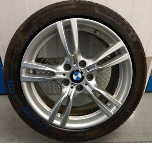 Genuine BMW 18 Rear Alloy Wheel + RunFlat Tyre 3 4 Series M Star-Spoke 2016 LCI