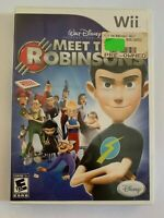 MEET THE ROBINSONS - WII  - COMPLETE W/ MANUAL - FREE S/H - (G4)