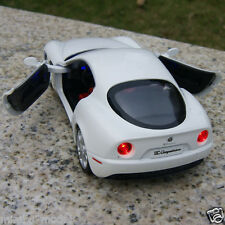 Alfa Romeo 8C 1:32 Alloy Diecast Car Model Collection&Gift White Sound&Light Toy