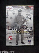ERIC BROWN A PILOT'S STORY AEROPLANE SAMPLE EXTRACT APPROX 30 MIN DVD NR
