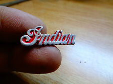 Indian Motorcycle Pin Vintage Factory Jacket Dealership Vest Chief Badge Hat