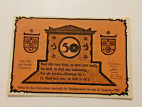 TETEROW REUTERGELD NOTGELD 50 PFENNIG 1921 NOTGELDSCHEIN (10818)