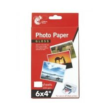 "6 x 4"" Gloss Printer Photo Paper 30 Sheets 235gsm For Inkjet Printers"
