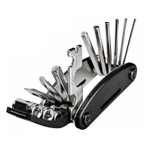 RockBros Bicycle Repair Tool Bike Pocket Multi Function Folding Tool 16 in A+ AU