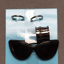 INTEGRITY TOYS POPPY PARKER TEEN MALLORY MARTIN SILVER SHINE JEWELRY SUNGLASSES
