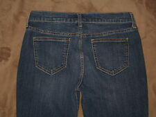 Old Navy Size 4 Reg The Sweetheart Tapered Leg Dark Blue Stretch Denim Womens