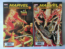 LOT 2 PANINI COMICS MARVEL UNIVERSE THE TORCH N° 7 ET 8 2010 COLLECTOR EDITION