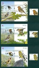 PORTUGAL 2019 EUROPA / NATIONAL BIRDS 3 STAMPS+3 BLOCKS MNH