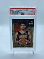 2018 Court Kings Trae Young Rookie Portraits /199 Pop 1 None Higher PSA 9
