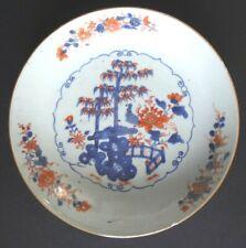 Assiette porcelaine Chine Qianlong Japon Imari Antique 18th chinese plate plate