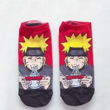 1 pairs Naruto Anime Cotton Socks Cute Female Kawaii Summer Short Socks Women Ca