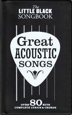 LITTLE BLACK SONGBOOK GREAT ACOUSTIC SONGS*