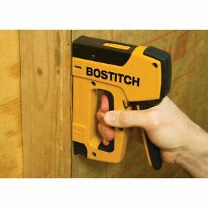 "Bostitch T6-80C2 1/2"" to 9/16"" Light Heavy Duty Manual Powercrown Stapler"