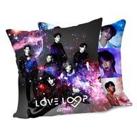 Kpop GOT7 4. Mini-Album《Love Loop》 doppelseitige Sofakissenbezug cRUWK