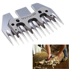 13 Teeth Straight Blade Stainless Steel Strength for Sheep/Goat Shearing Clipper