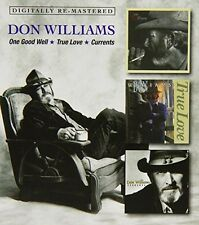 One Good Well/true Love/currents 5017261211521 by Don Williams CD