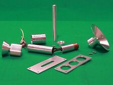 Star Trek TOS, Phaser-Rifle Metal Parts, FULL 10 PC Kit, Screen Accurate, Shanko