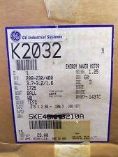 NEW GE MOTOR 1 HP M# 5KE49NN8210A 208/230/460 VOLT 7EFC 3PH K2032  NIB